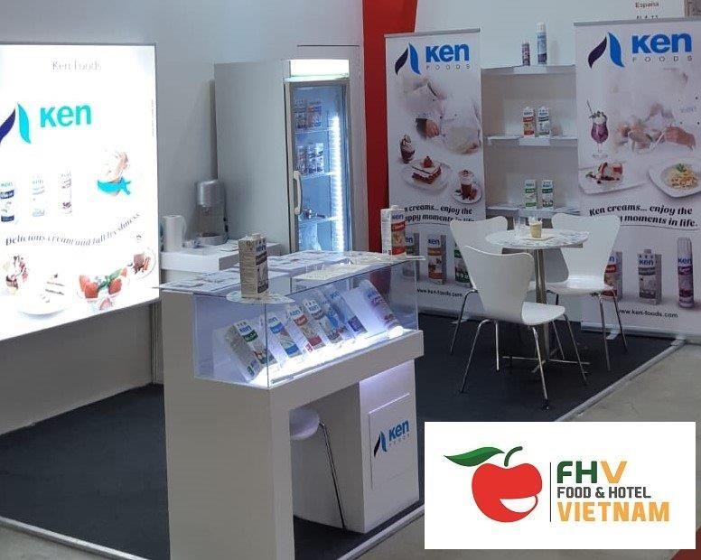 Ken Foods attended the Food & Hotel Vietnam fair