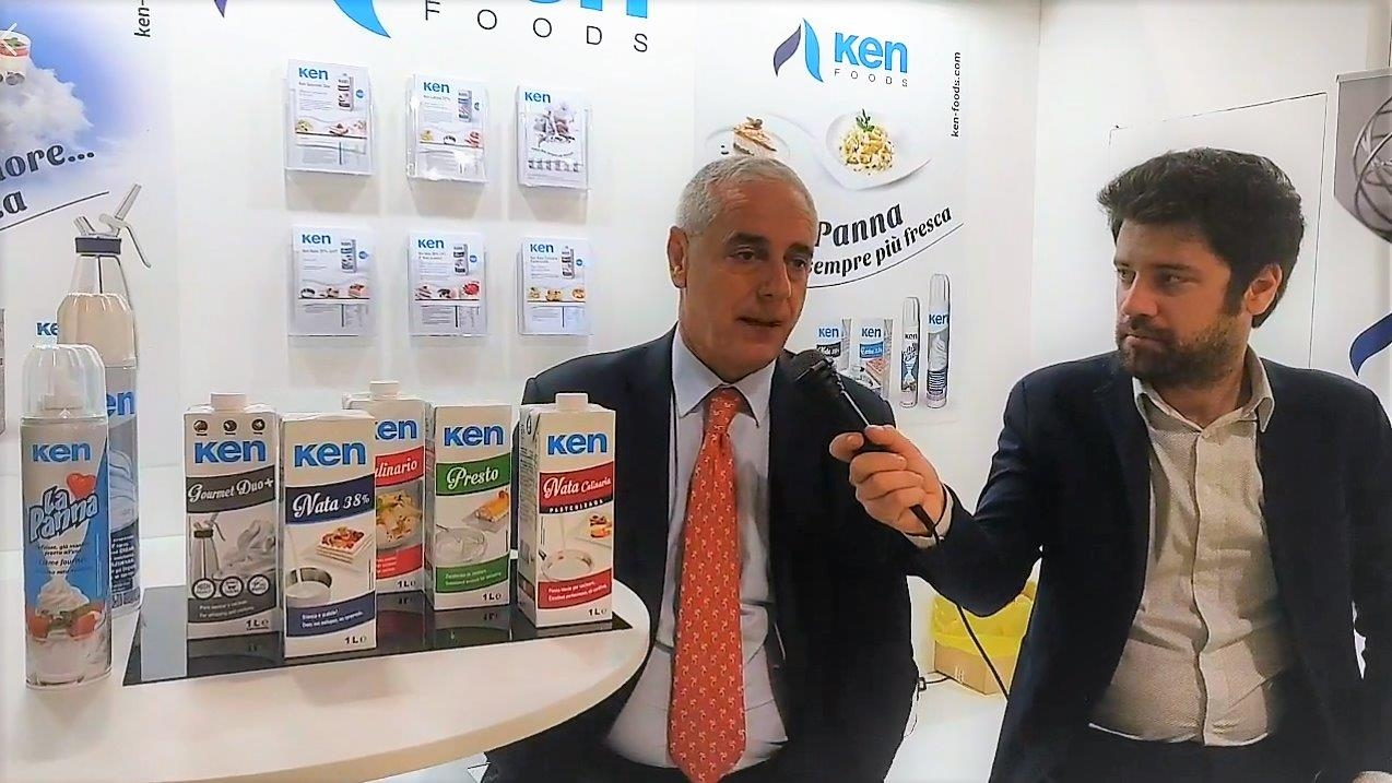 International Saltes Manager Giuseppe Conti, interviewed at the TuttoFood exhibition in Milan