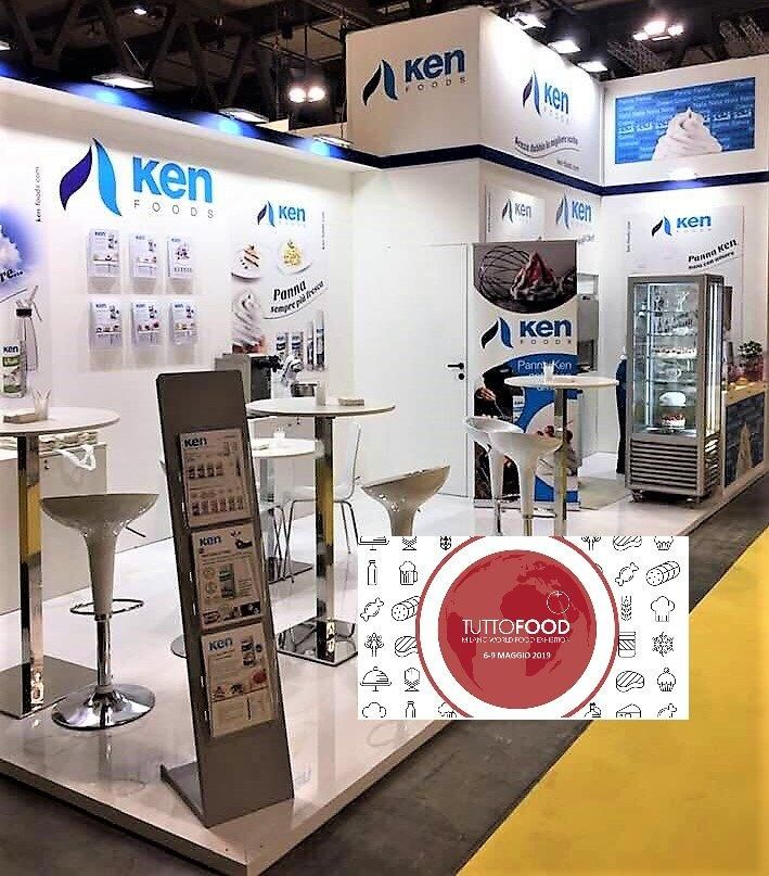 Ken-Foods at the TuttoFood exhibition in Milan, Italy